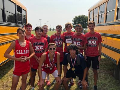 Salado cross country at Pflugerville
