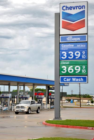Texas gasoline prices hover at $3 43 average   Business