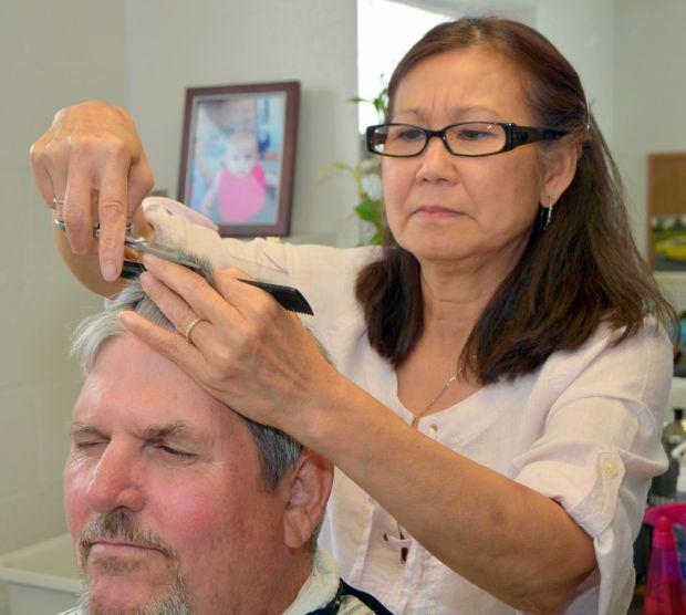Female Barber A Success In Cove