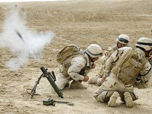 Greywolf soldiers advise Iraqi troops