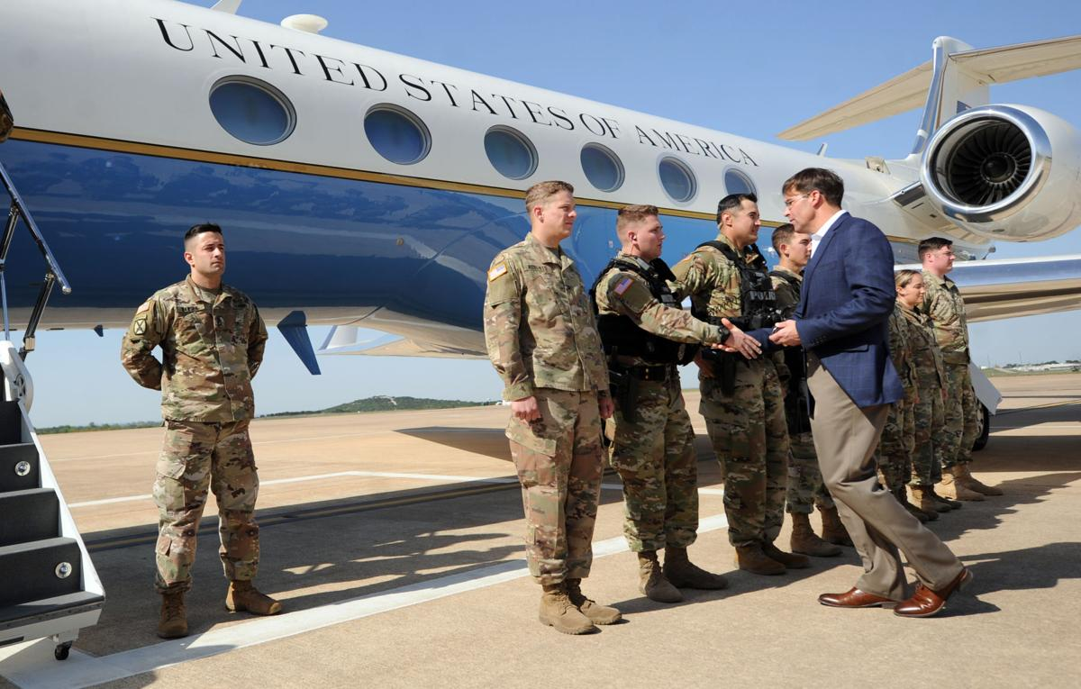 Secretary of the Army visits Fort Hood | Across the Fort