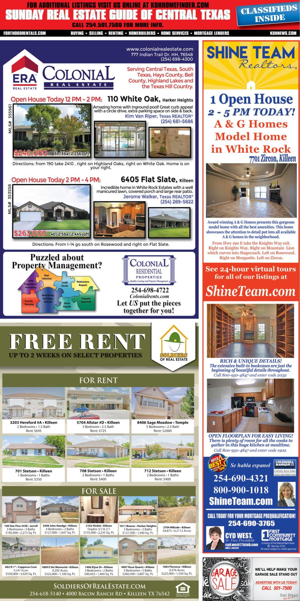 Sunday Real Estate Guide Sept 9th