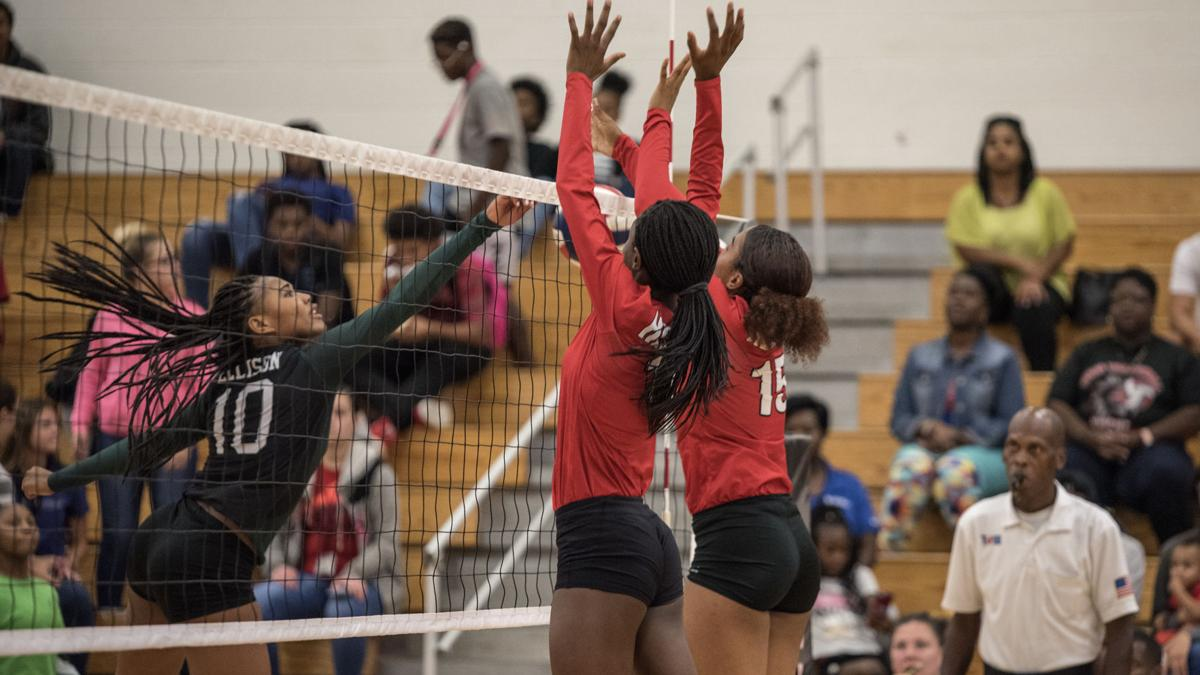 VOLLEYBALL: Rally thwarted, Lady Eagles start new one and top Heights in 5 sets