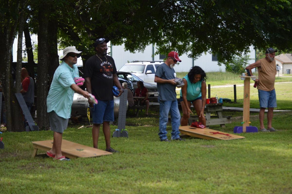Dozens pitch bean bags in Moose Lodge cornhole tournament   Copperas Cove  Herald   kdhnews.com