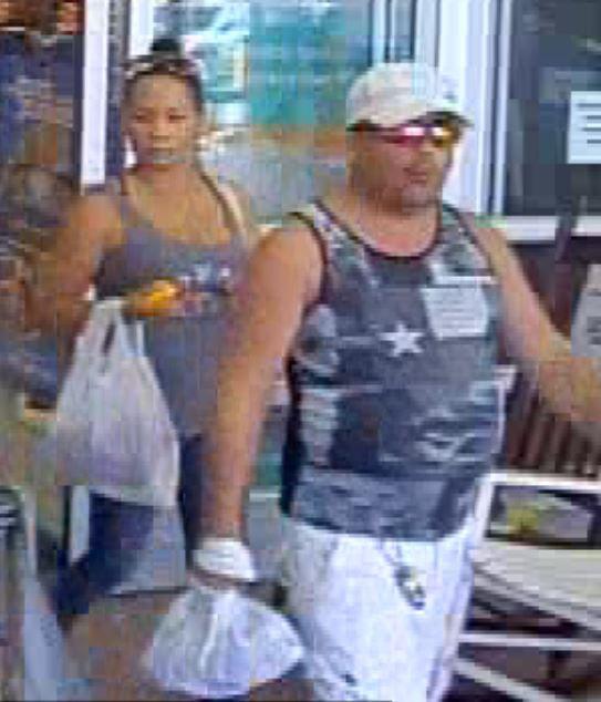 Male and female suspect