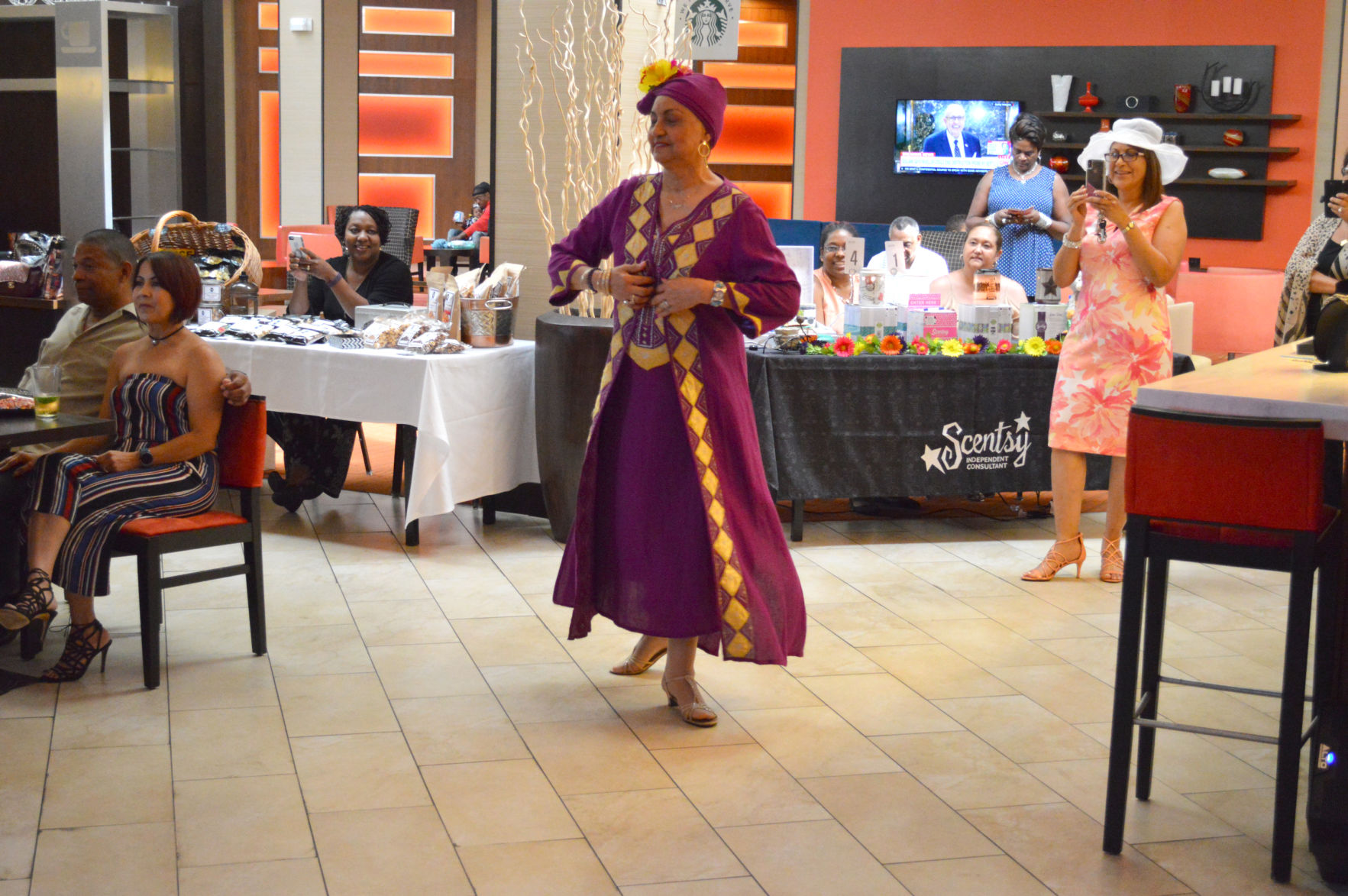 Salsa event draws over 50 people to