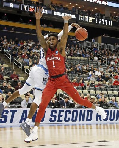 NCAA Rhode Island Oklahoma Basketball
