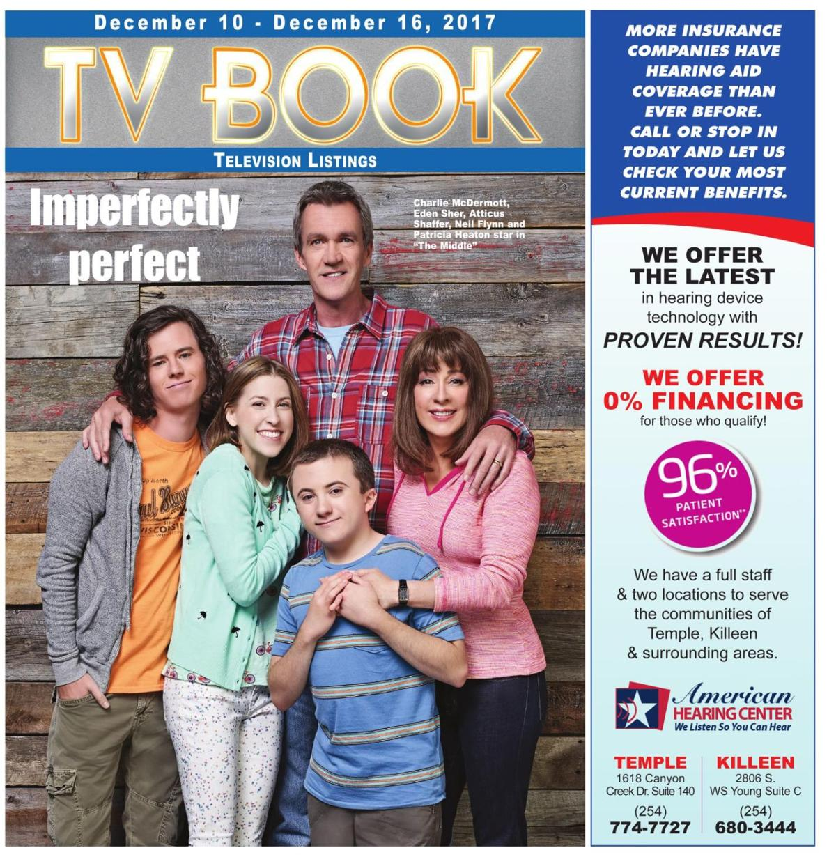 TV Book Dec. 10th - Dec. 16th