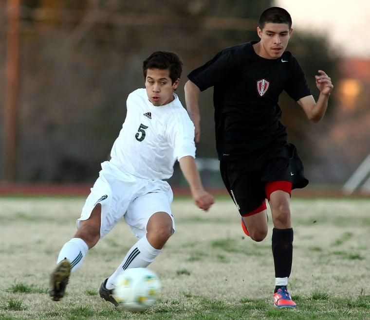 Ellison soccer hosts Heights