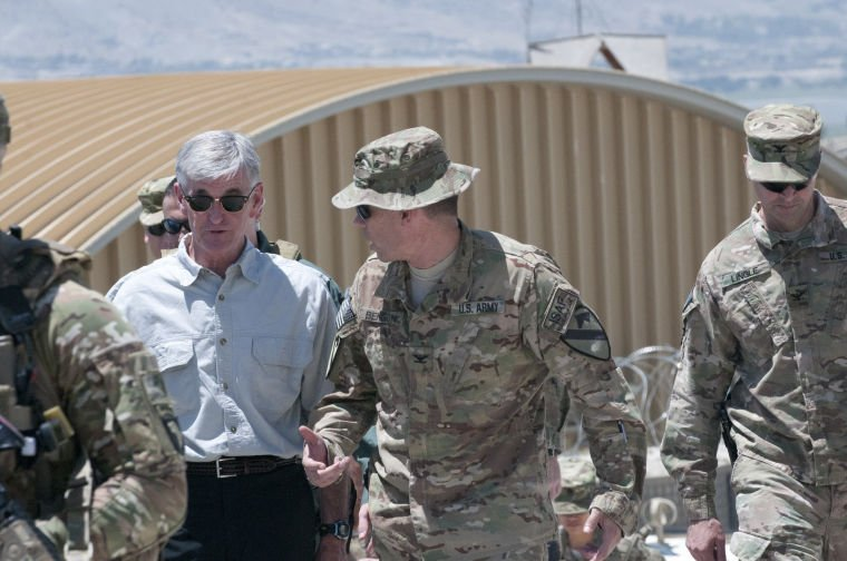 U.S. Army secretary in Afghanistan