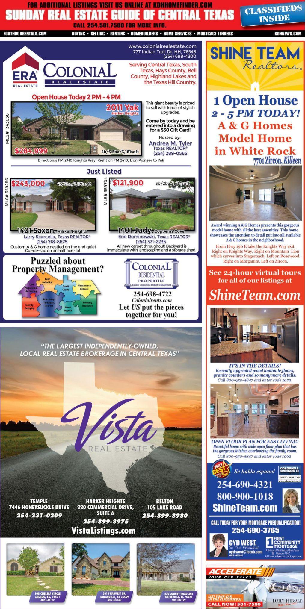 Sunday Real Estate Guide Sept 23rd
