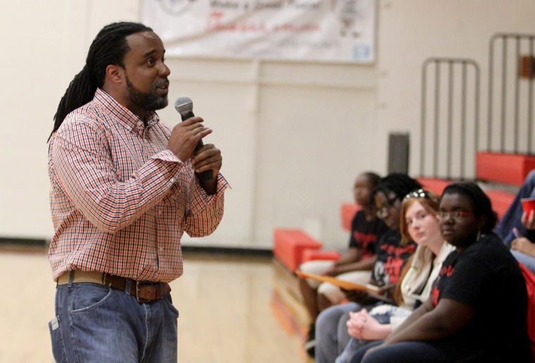 Middle school students learn about STDs at conference
