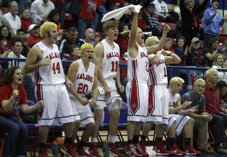 Boys Basketball Playoffs: Salado v. Marlin
