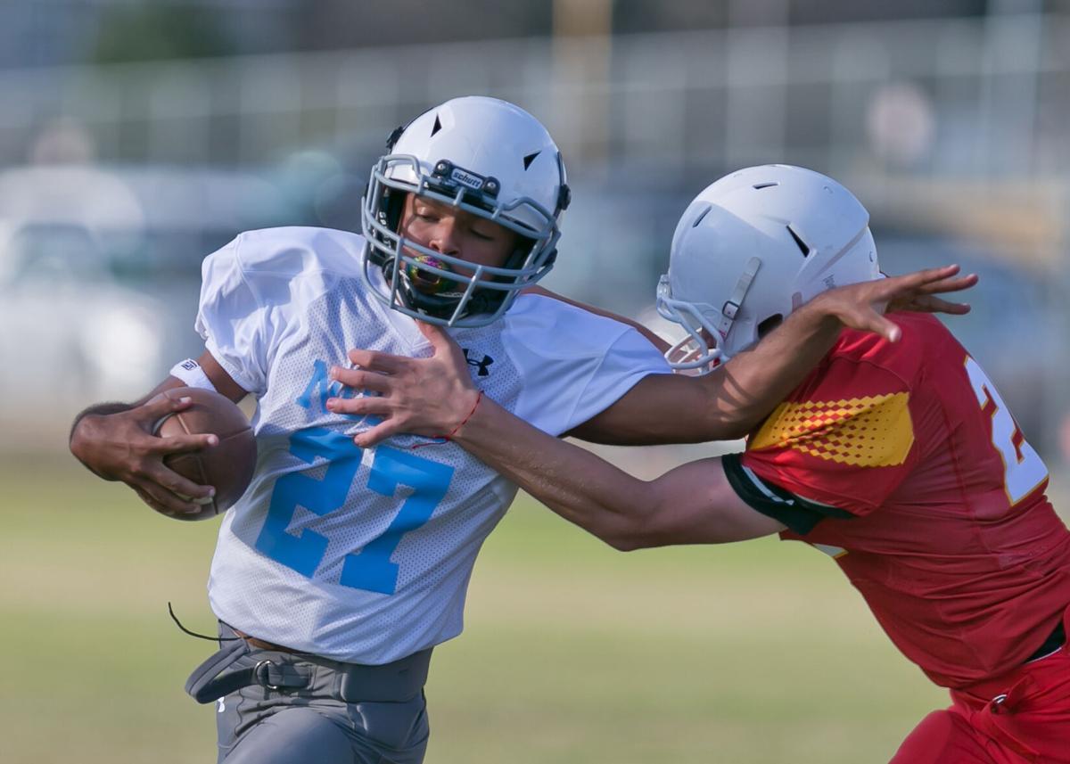 Nolan vs. Union Grove Middle School Football