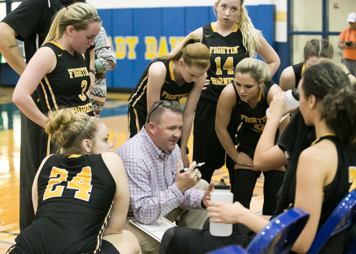 Gatesville vs. Burnet Girls Basketball in area Round Playoffs