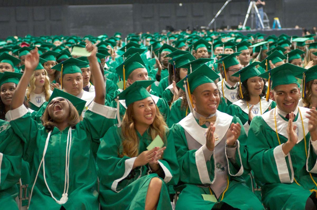 Ellison High School graduation