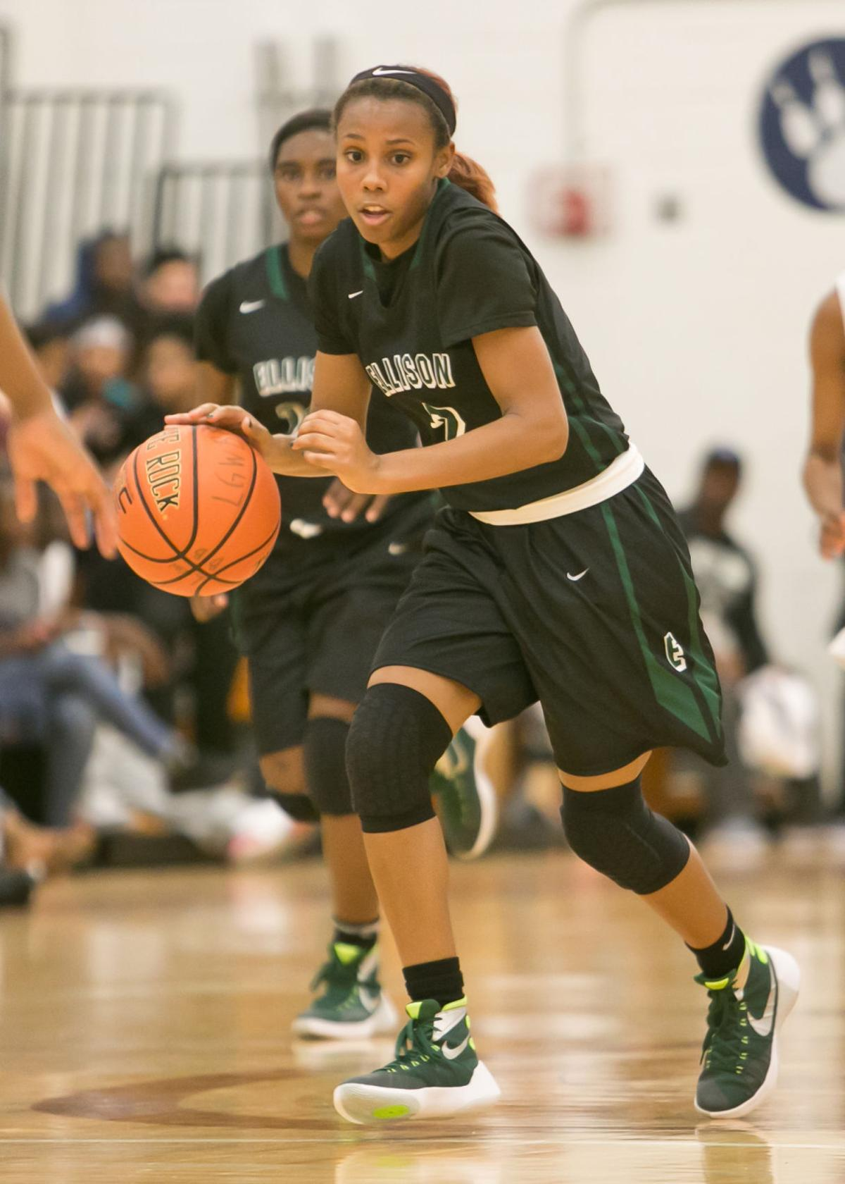 Ellison at Shoemaker Girls Basketball