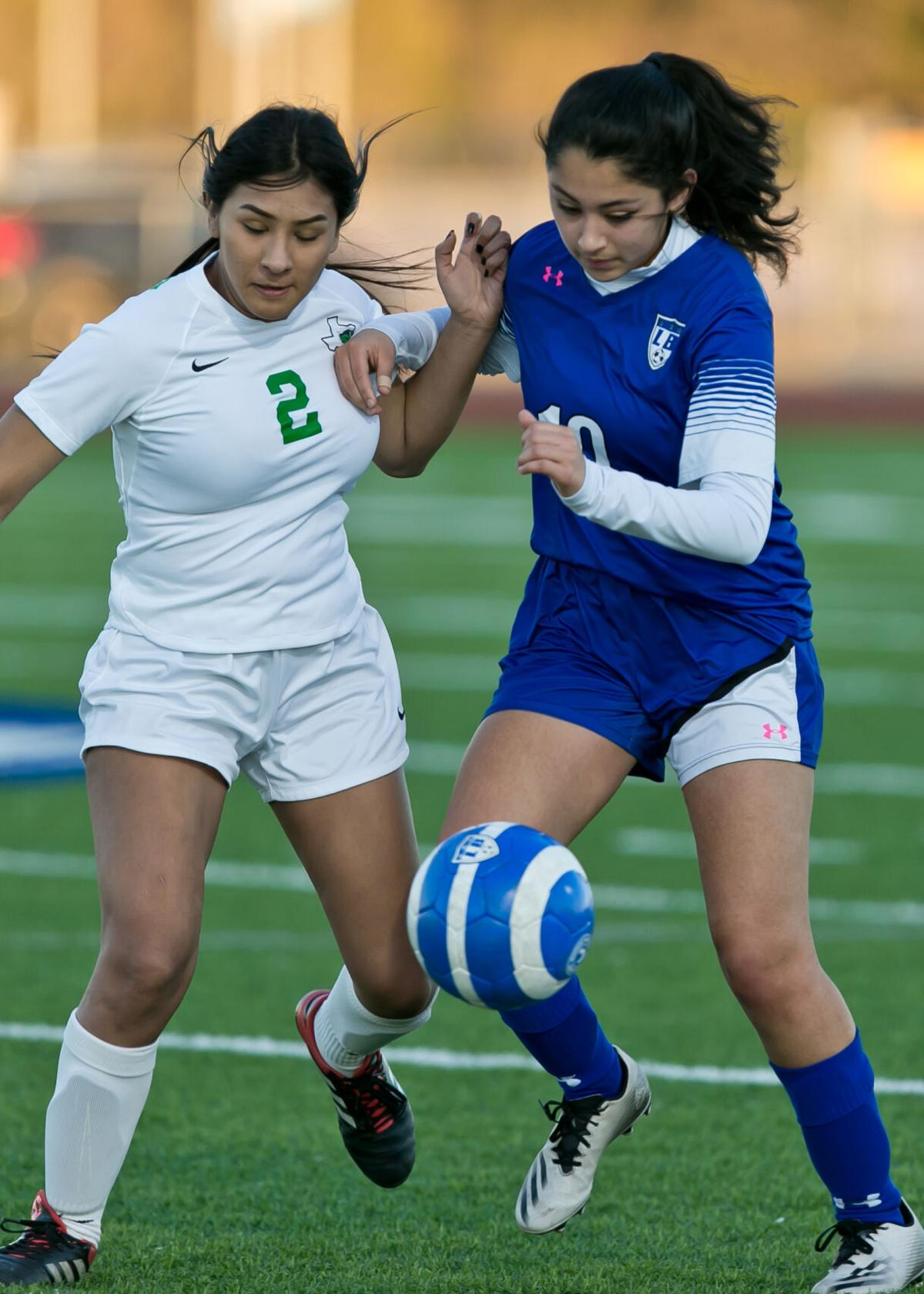 Burnet at Lampasas Girls Soccer