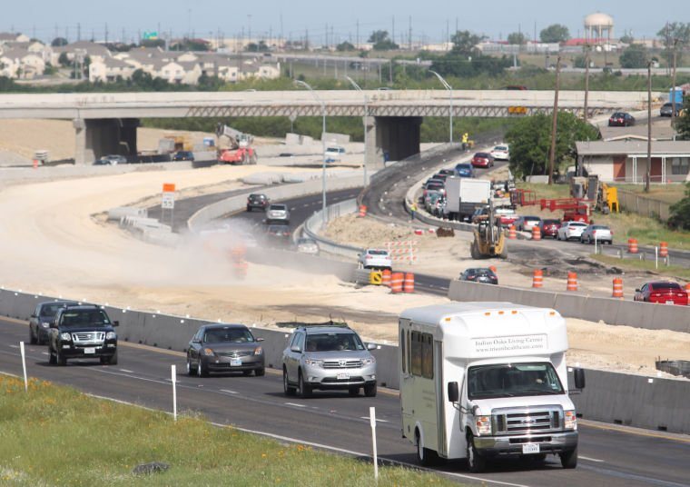 U.S. Highway 190 construction project