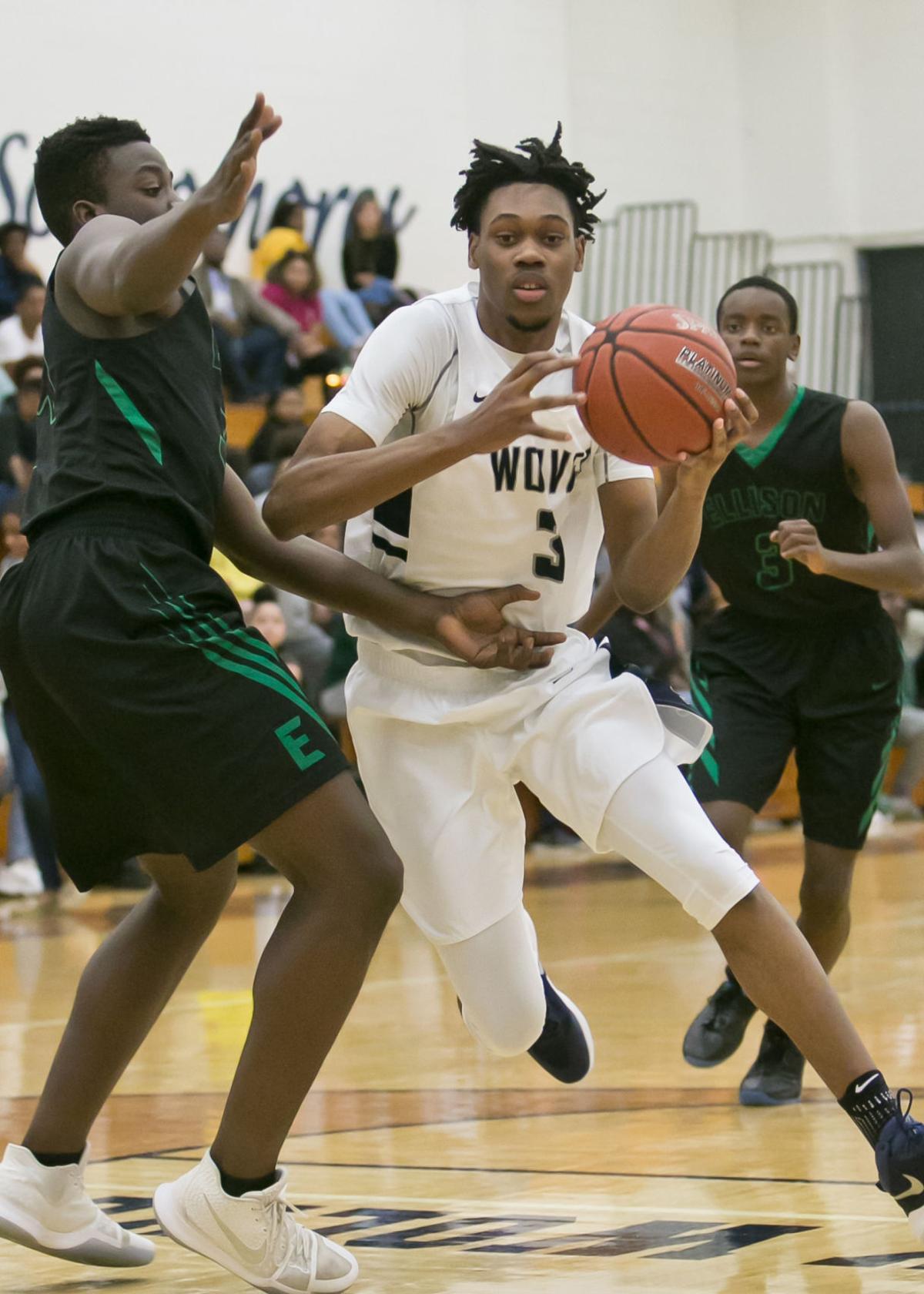 Ellison at Shoemaker Boys Basketball