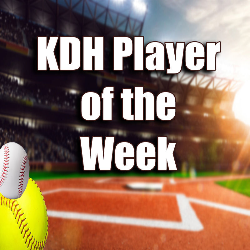 KDH Player of the Week