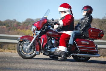 Toy run collects $12K for children's charities