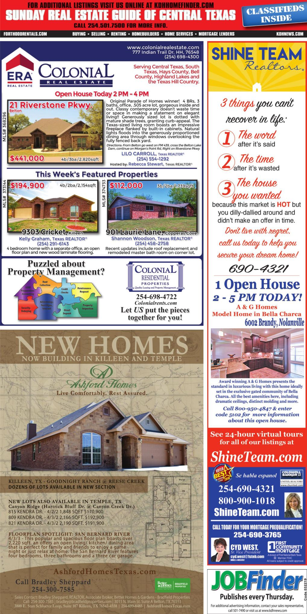 Sunday Real Estate Guide April 14th