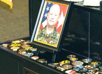 Colleagues, friends honor fallen general