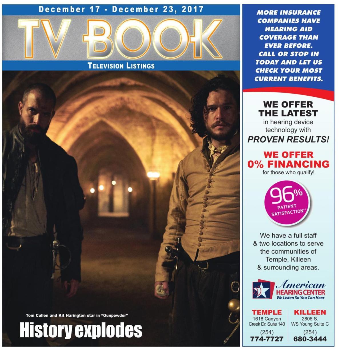 TV Book Dec. 17th - Dec. 23rd