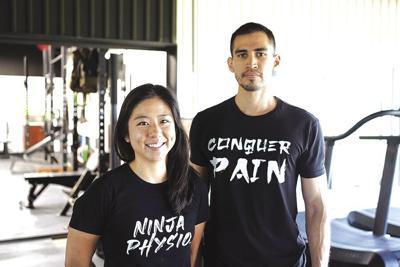 Dr. Lily Yu and Hipolito Sarabia