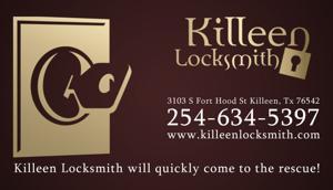 Commercial Locksmith Service Killeen Locksmith 254-634-5397