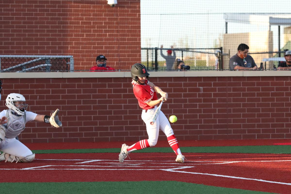 Salado at Lake Belton softball