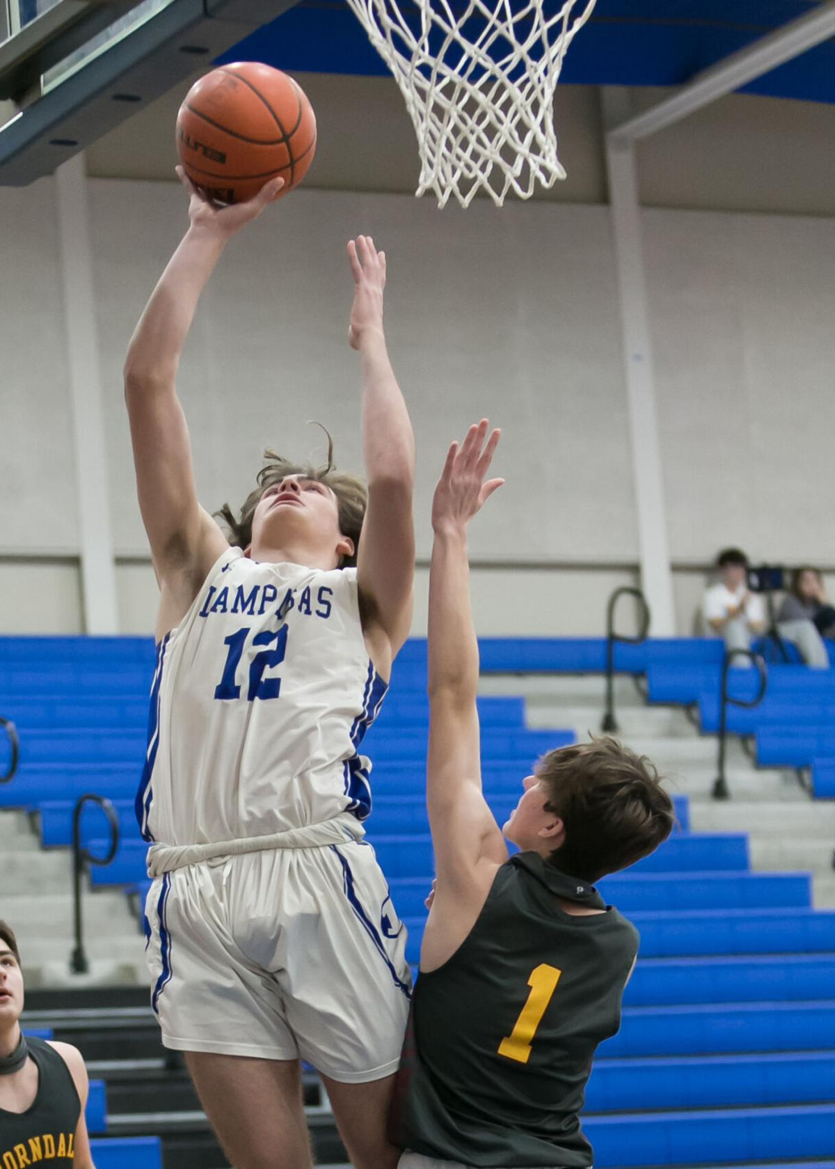 Thorndale at Lampasas Boys Basketball
