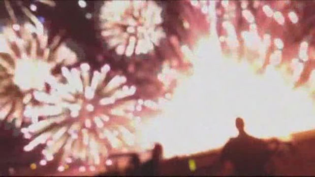 28 injured at Calif. fireworks