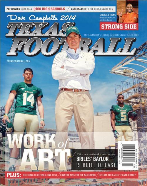 2014 Dave Campbell's Texas Football magazine