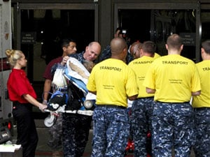 Arrival of Walter Reed patients marks new beginning at Bethesda