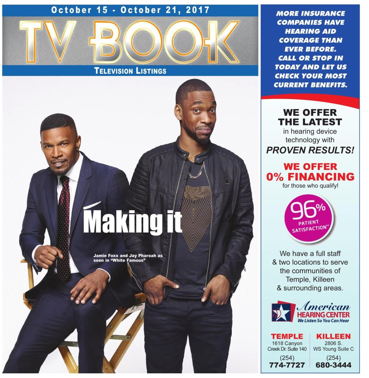 TV Book October 15th - 21st