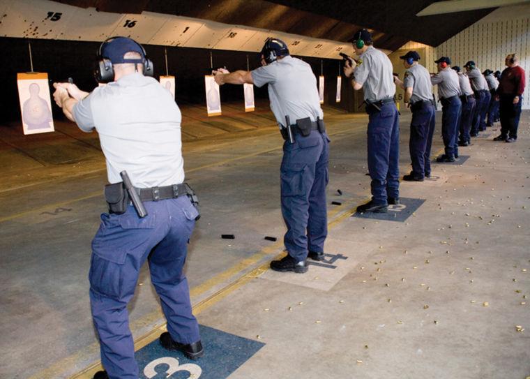 Shutdown border training