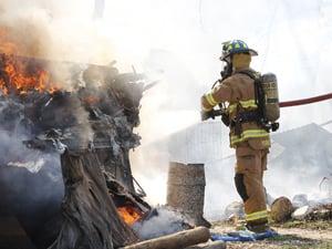 Fire destroys trailers in Belton