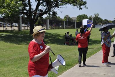 VA protests