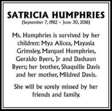 Satricia Humphries