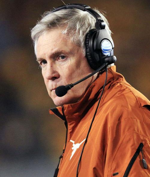 Mack Brown Stepping Down