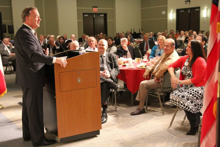Harker Heights Rotary hosts Texas A&M chancellor at luncheon