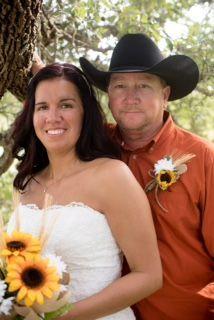 """Rebecca Feltner and Gordon """"Bubba"""" Bright"""