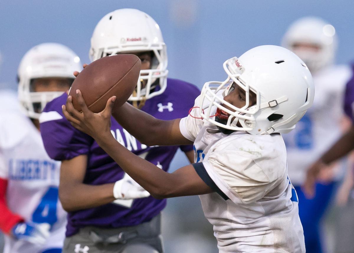 Liberty Hill vs. Eastern Hills Middle School 7th grade football