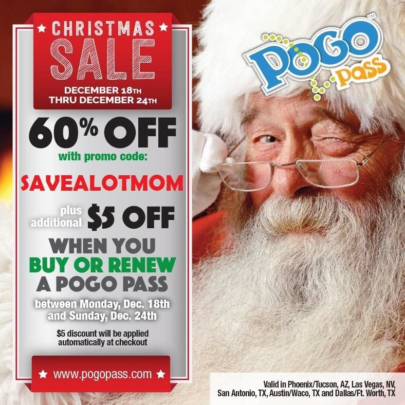 Christmas Sale Pogo Pass Offer!