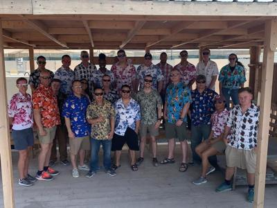 Sgt Johnston - Hawaiian shirts
