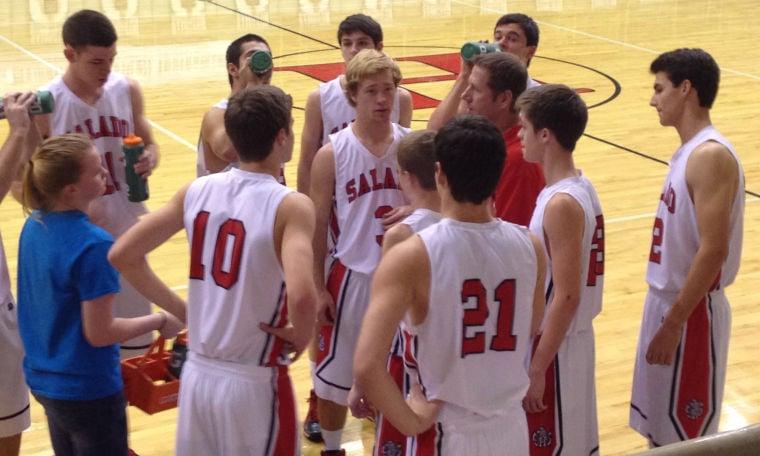 Salado boys basketball