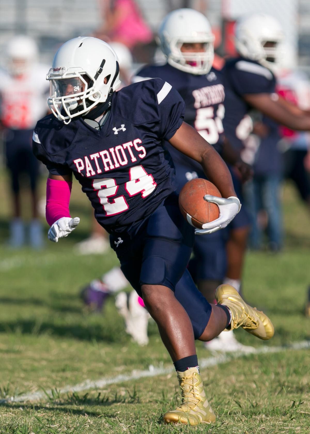 Patterson MS at Palo Alto 8th Grade Football