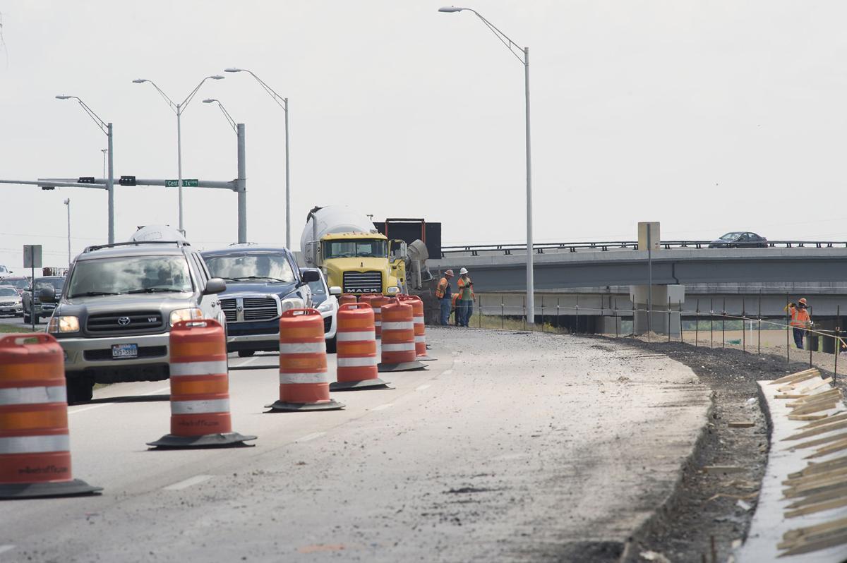 U.S. Highway 190 construction